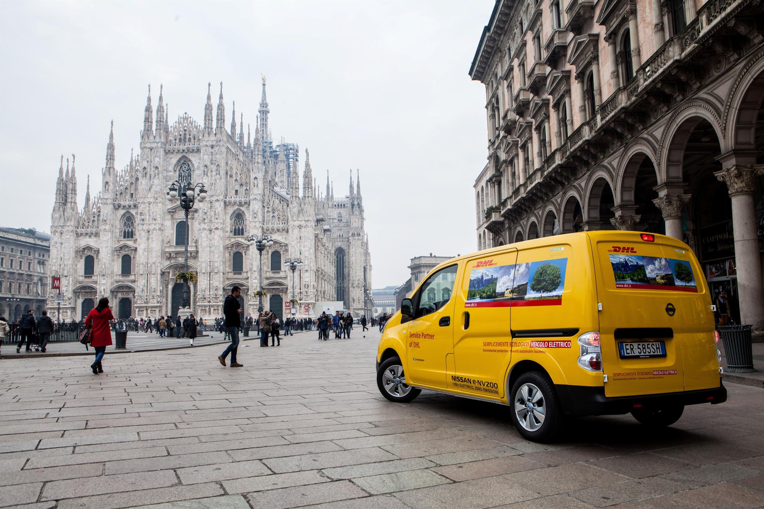 "Nissan e DHL Express: consegne a ""emissioni zero"""