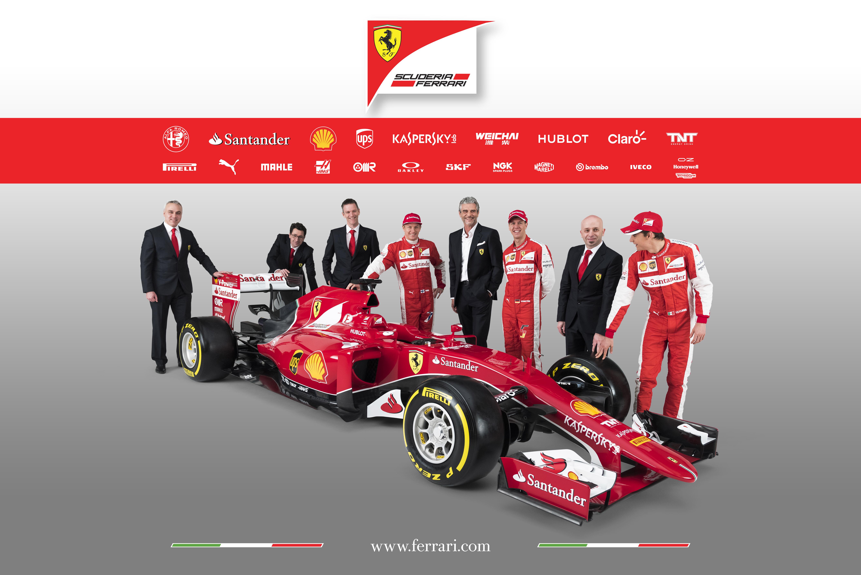 Ferrari SF15-T: eccola! E con il logo Alfa Romeo