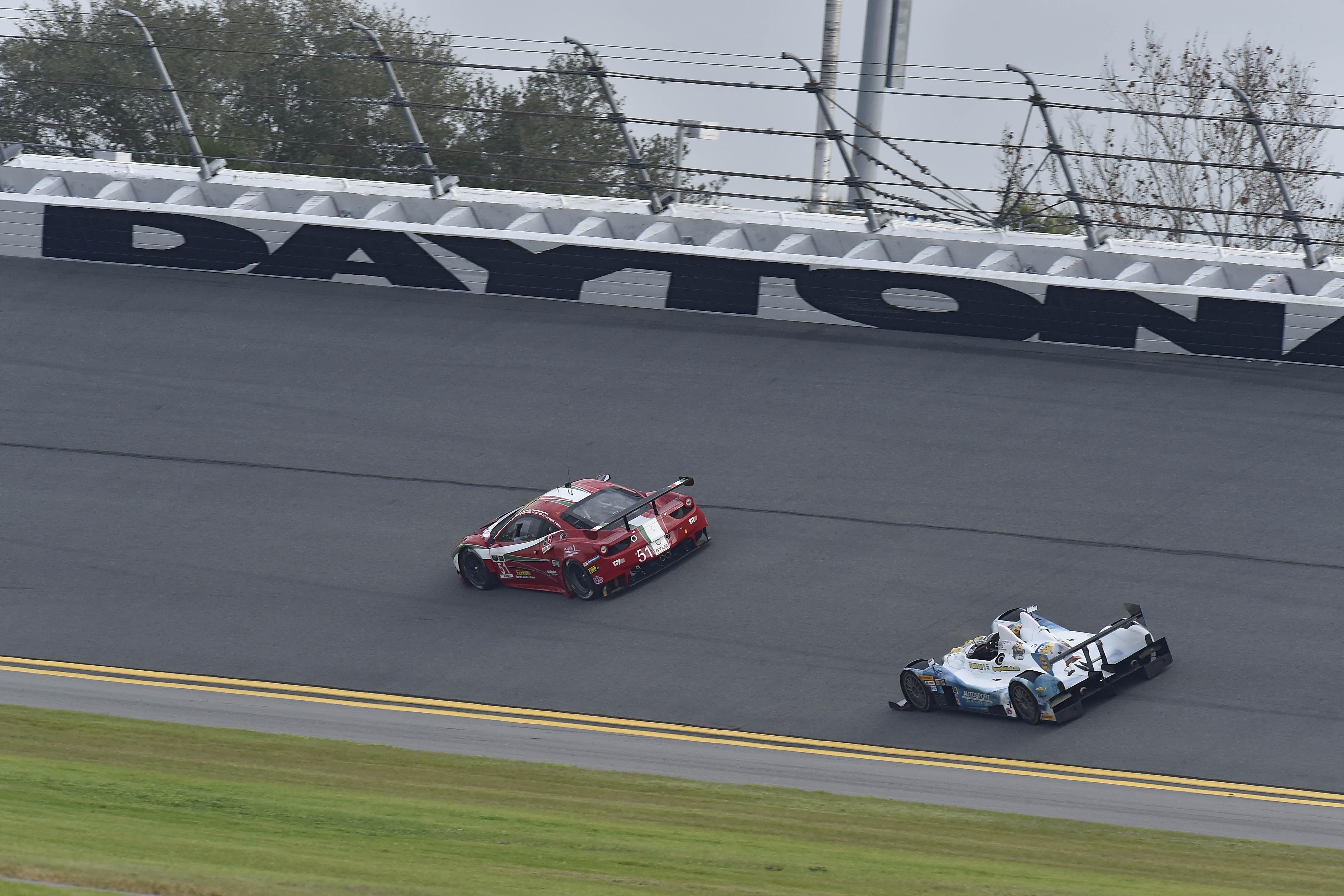 24 Ore di Daytona: il bilancio Ferrari