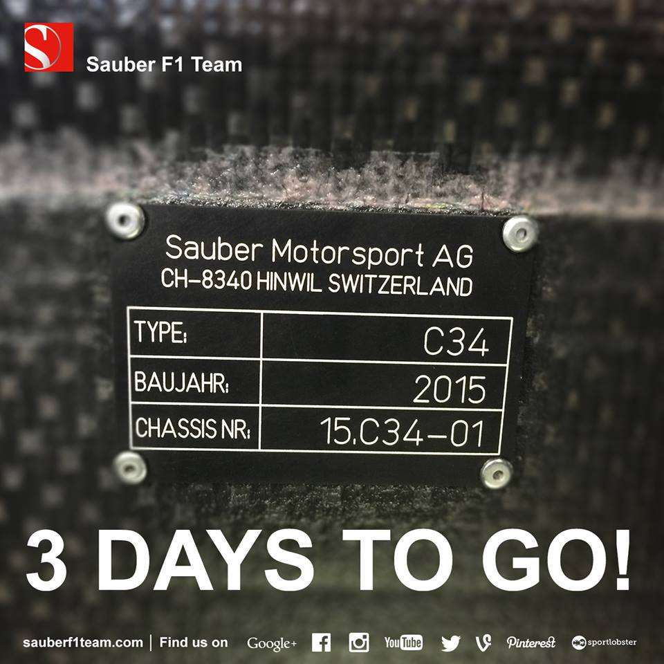 La Sauber si svela online il 30 gennaio