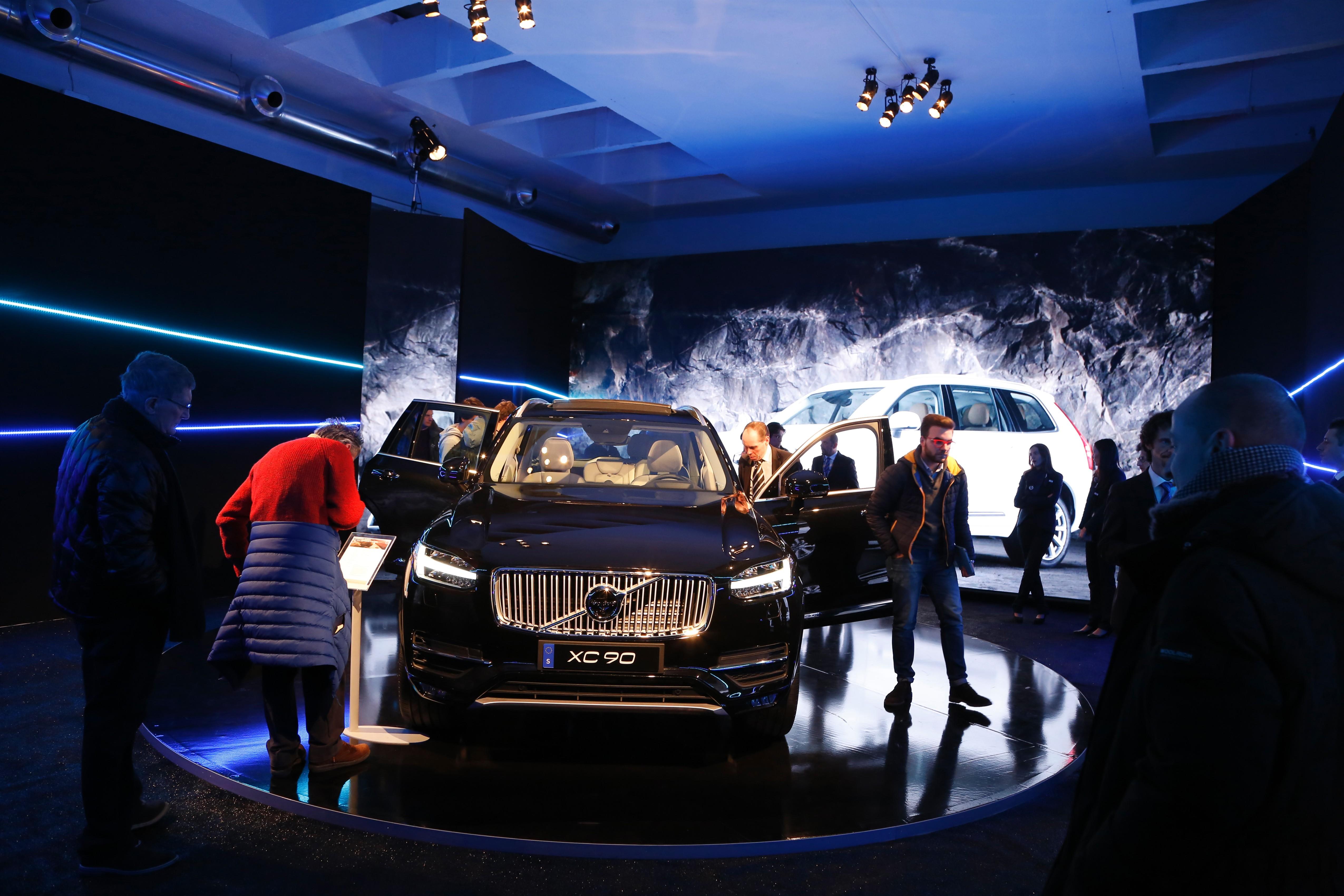 """Volvo XC90: grande successo per la """"prima"""" italiana"""