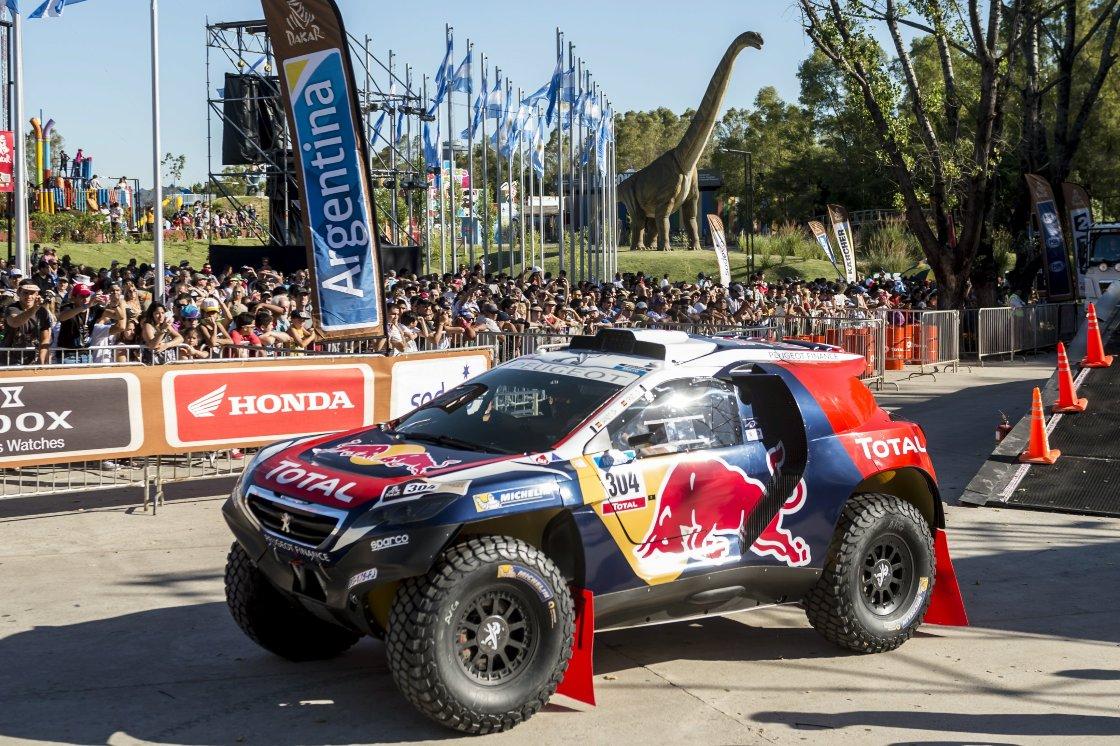 Team Peugeot-Total e la 2008 DKR: si parte!
