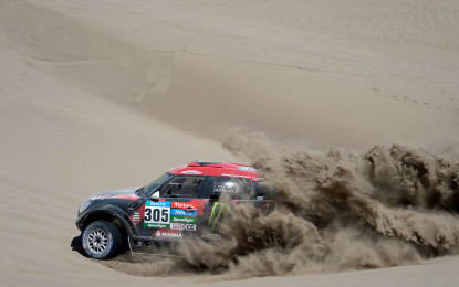 Dakar: 7° tappa a Terranova. De Villiers guadagna terreno