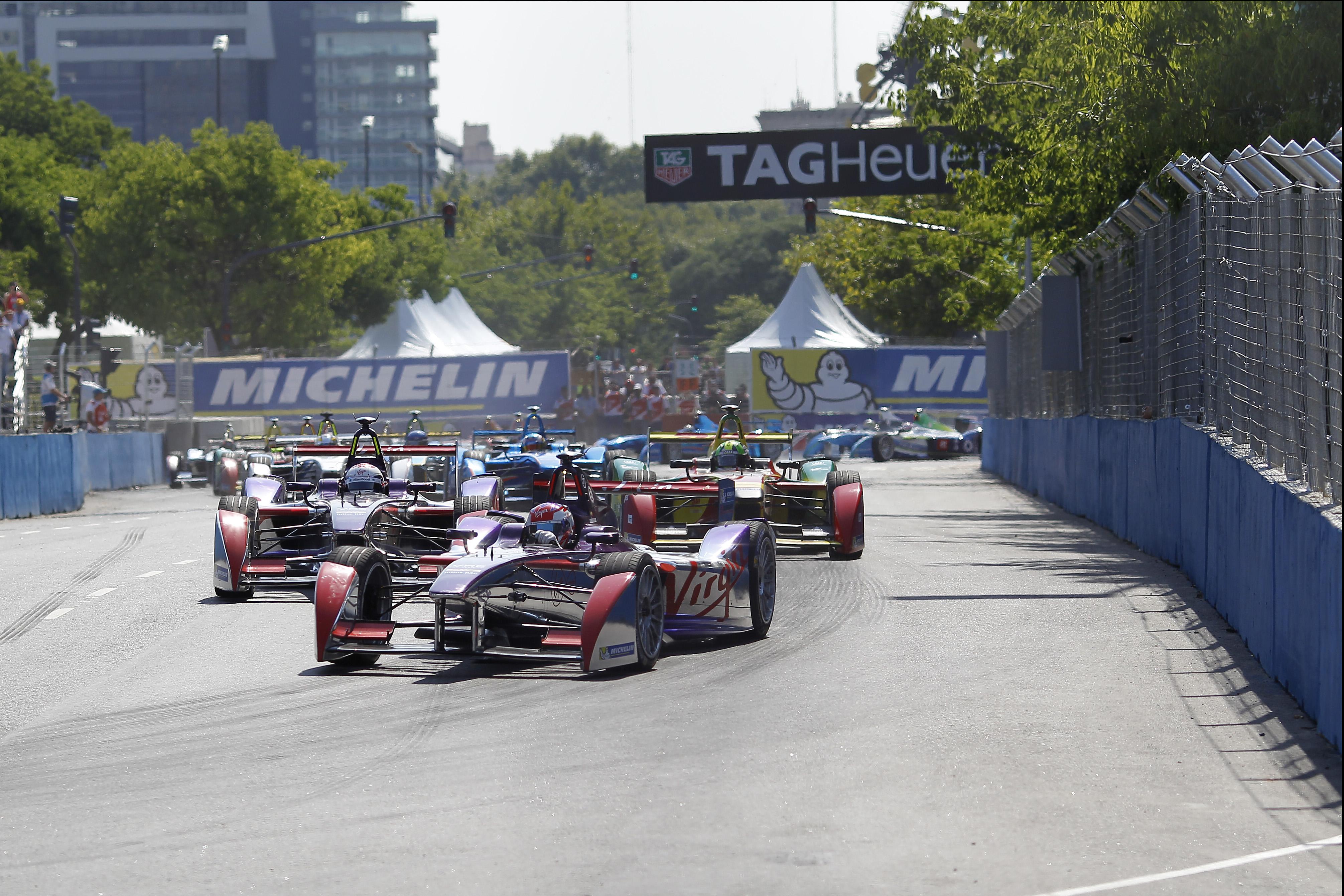 Formula E: grande spettacolo anche in Argentina