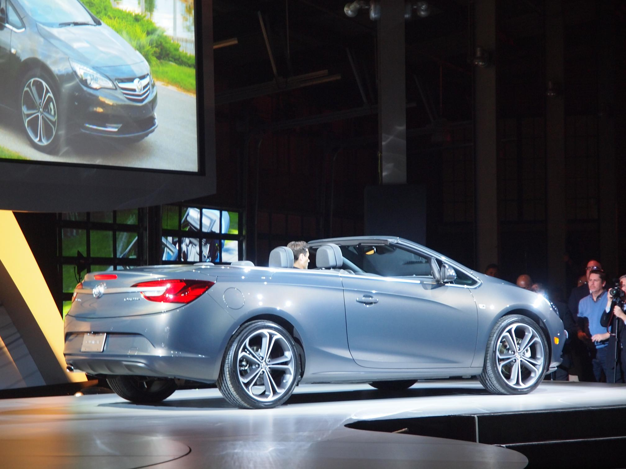 Detroit: Buick Cascada