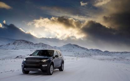 Land Rover Winter Tour 2015