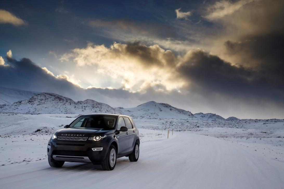 Land Rover Winter Tour 2015
