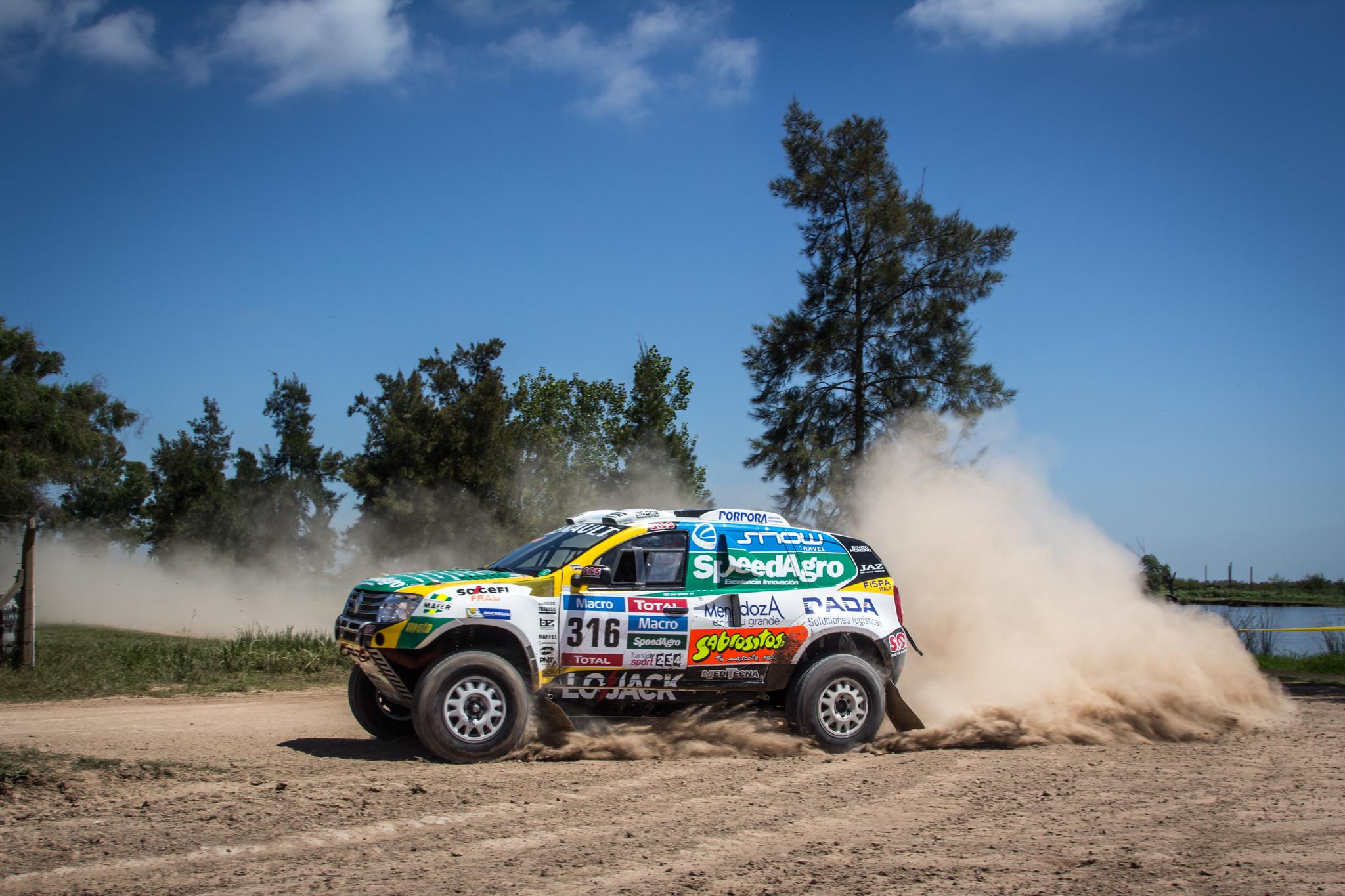 Dakar: il Duster Team nella top 5