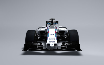 Williams Mercedes FW37: le prime immagini