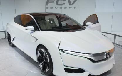 Detroit: Honda FCV Concept