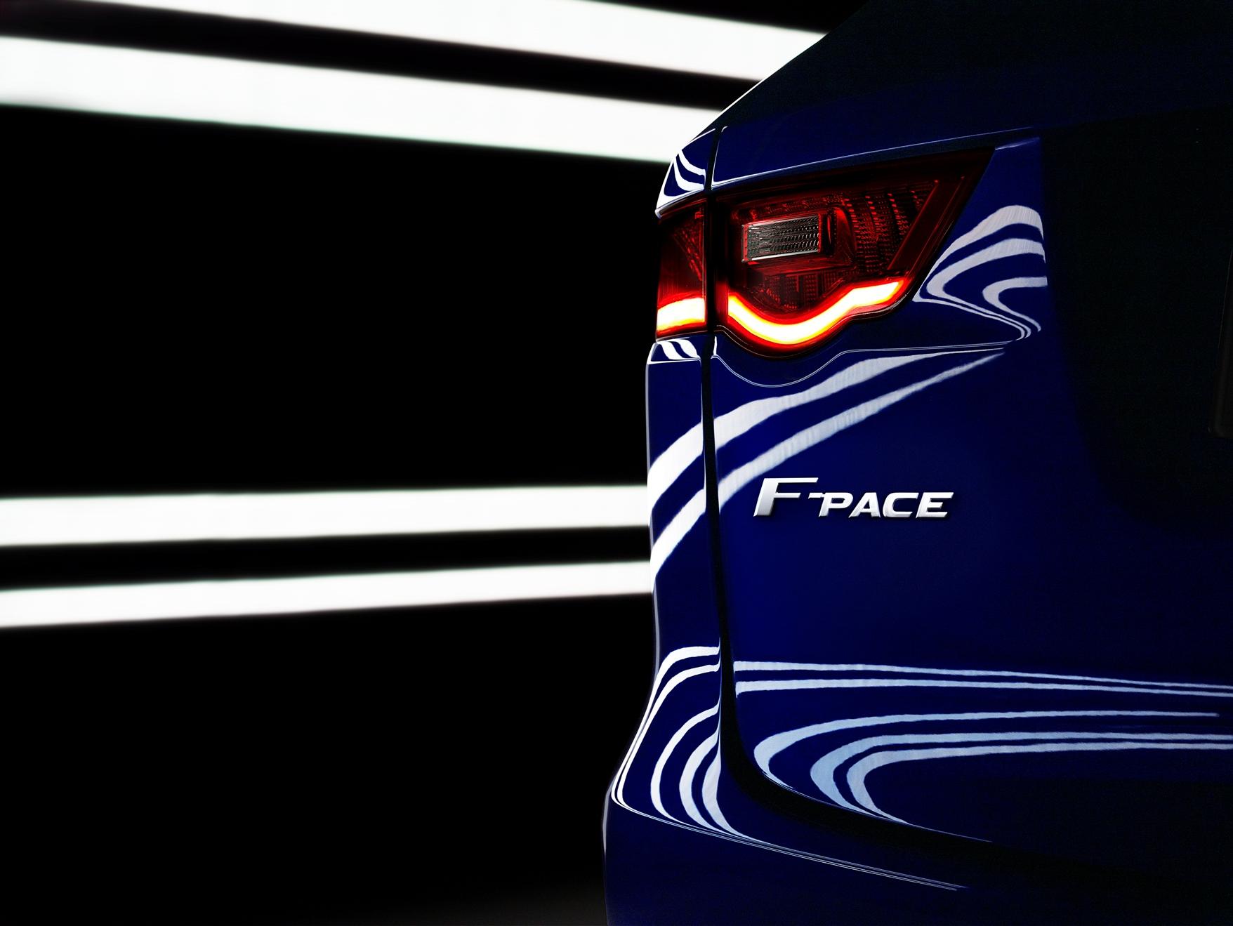 Detroit: Jaguar F-PACE