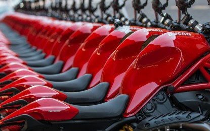 Ducati: 45.100 moto immatricolate nel 2014