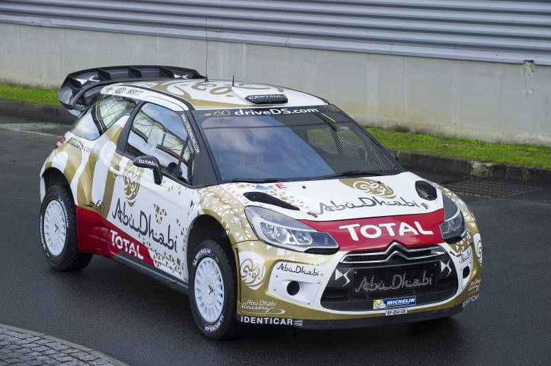 Nuova livrea per la DS 3 WRC