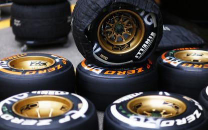 Formula 1 e Pirelli: tutti i numeri del 2014