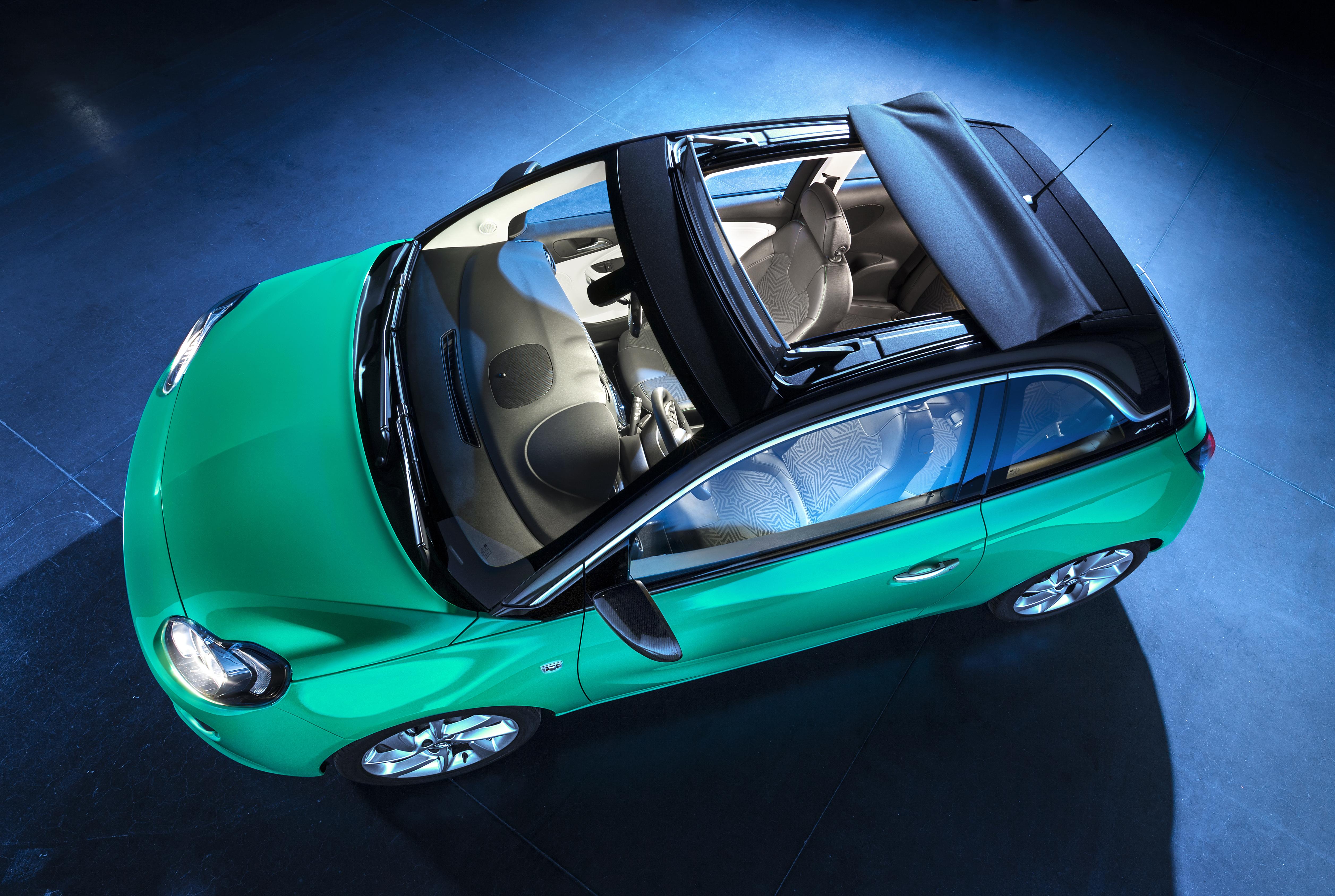 Opel ADAM con SWING TOP e cambio EASYTRONIC 3.0