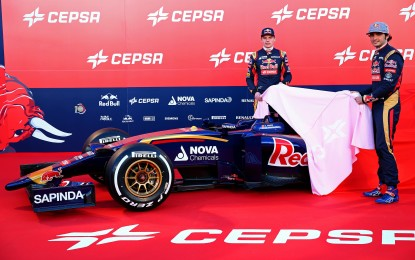La Toro Rosso presenta la STR10 a Jerez