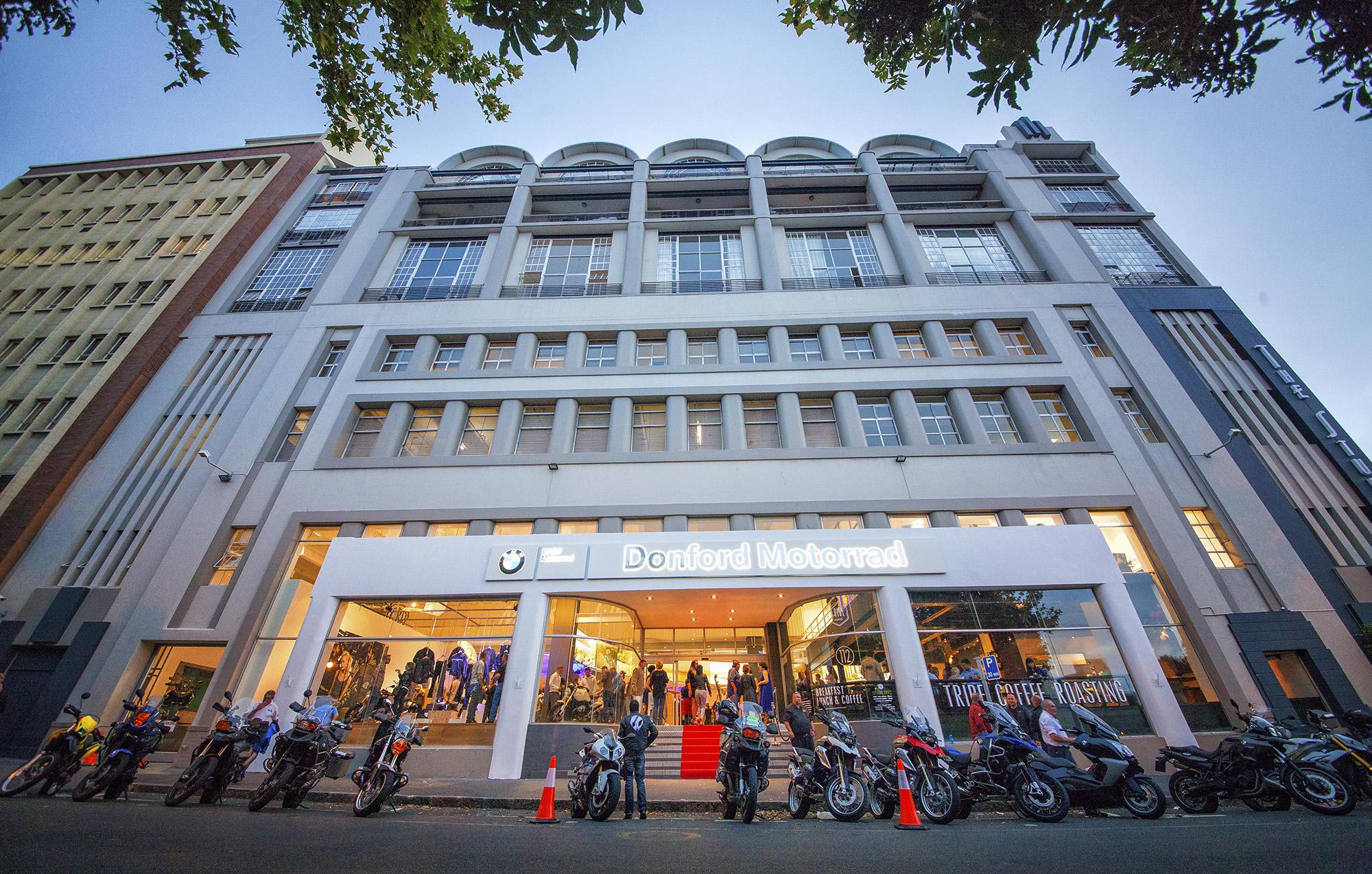 BMW Motorrad: uno store a Cape Town