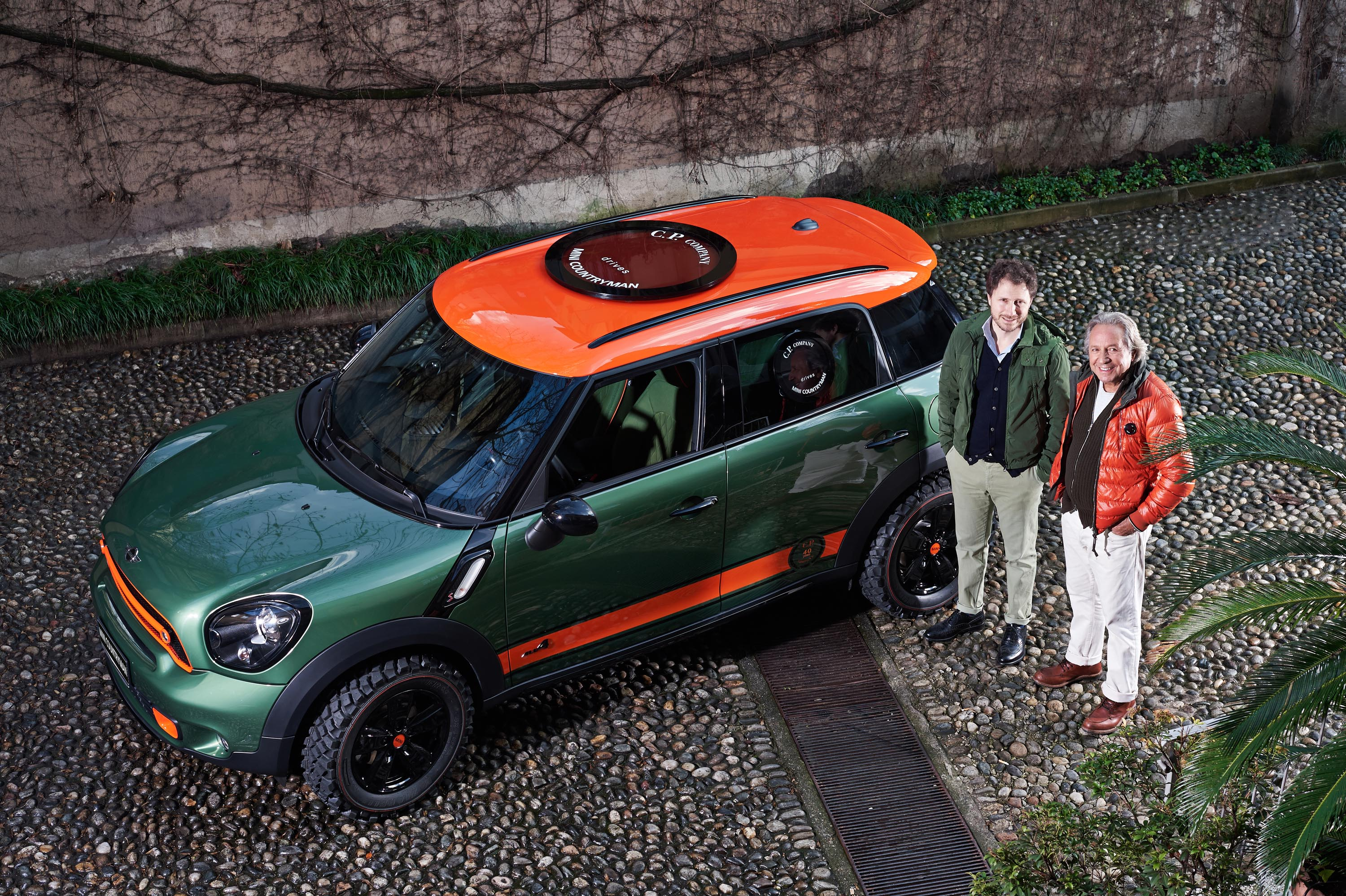 MINI Countryman e C.P. Company: partnership glamour
