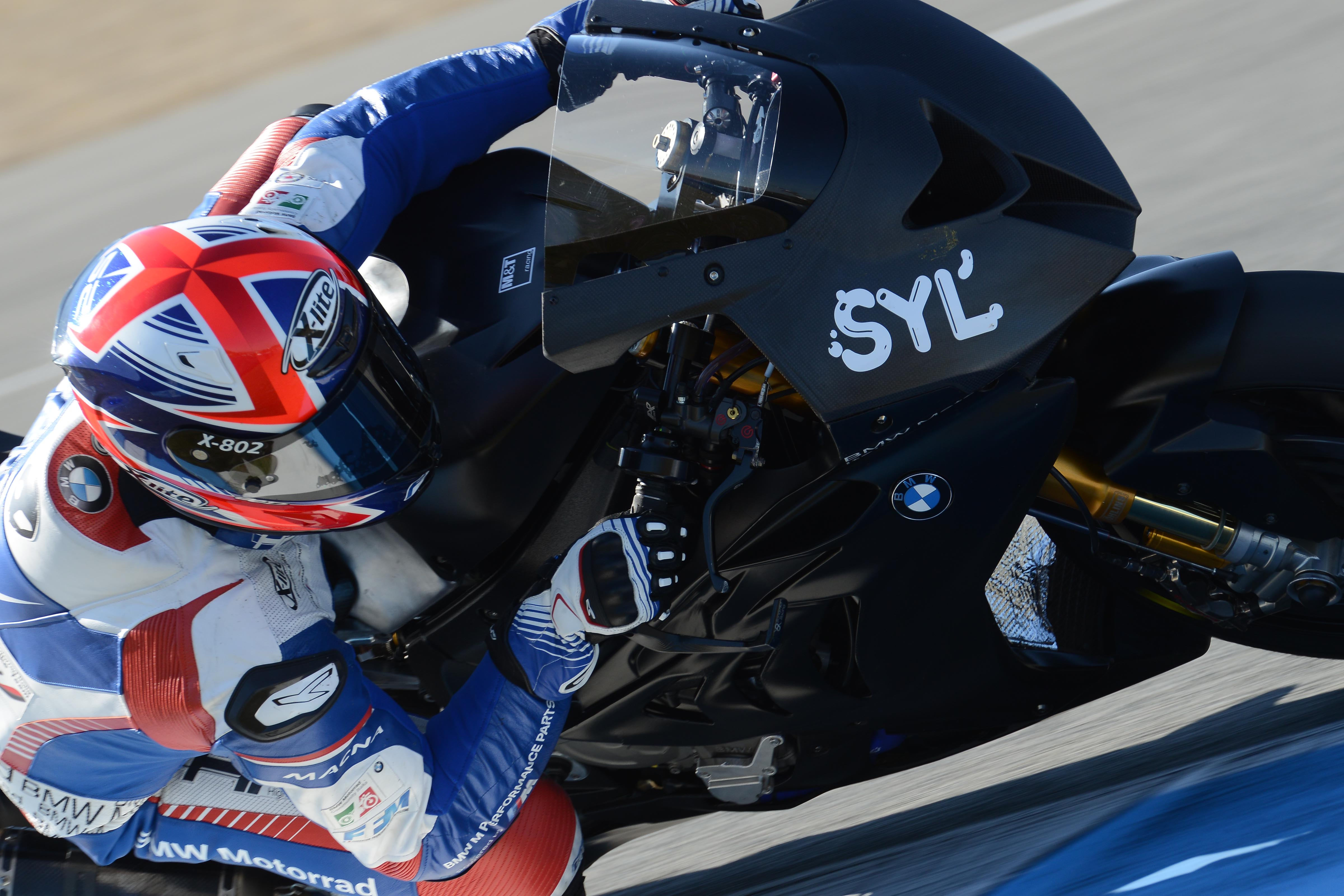 BMW Motorrad Italia SBK Team: test invernali conclusi
