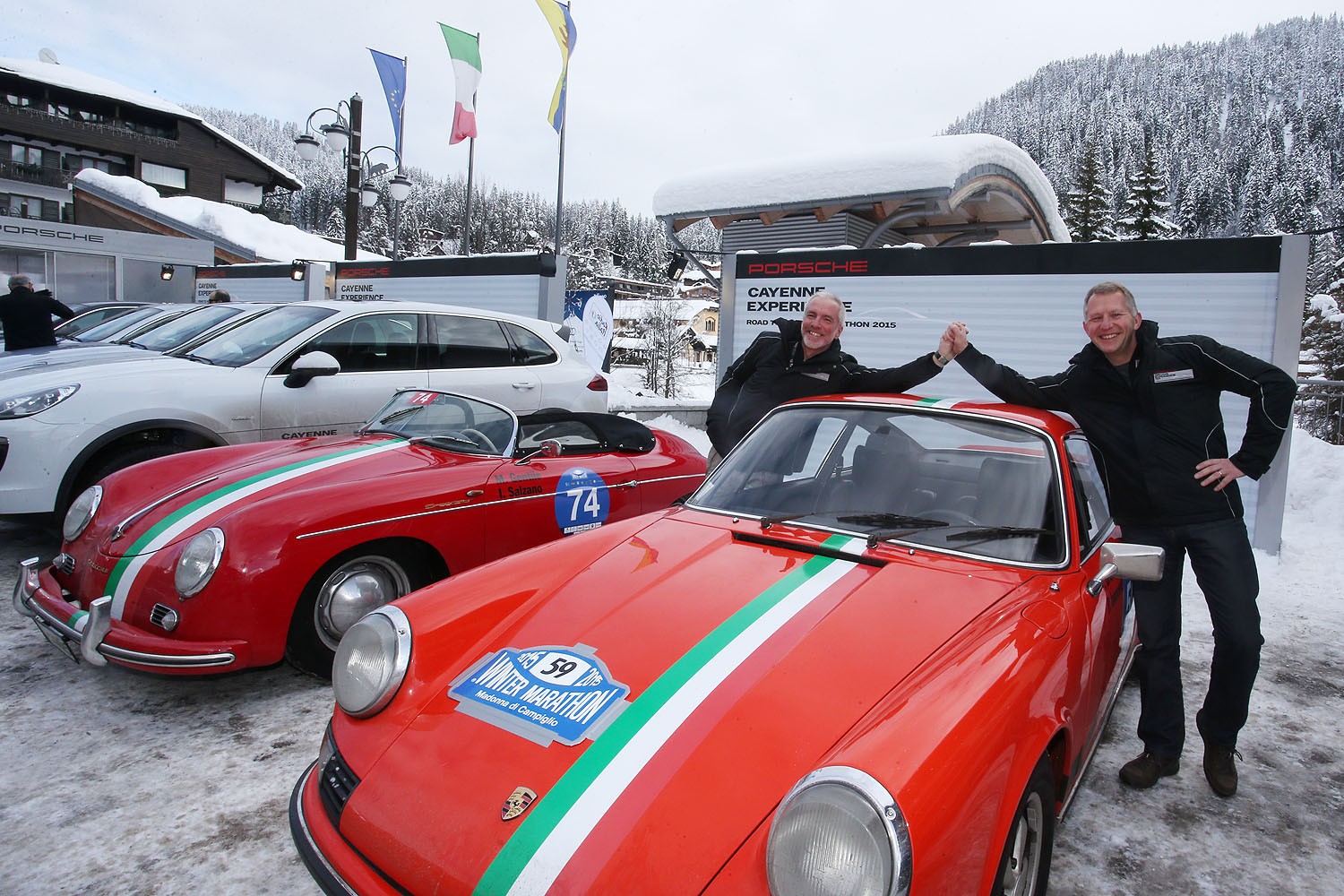 Porsche Italia Classic Team riparte dalla Winter Marathon