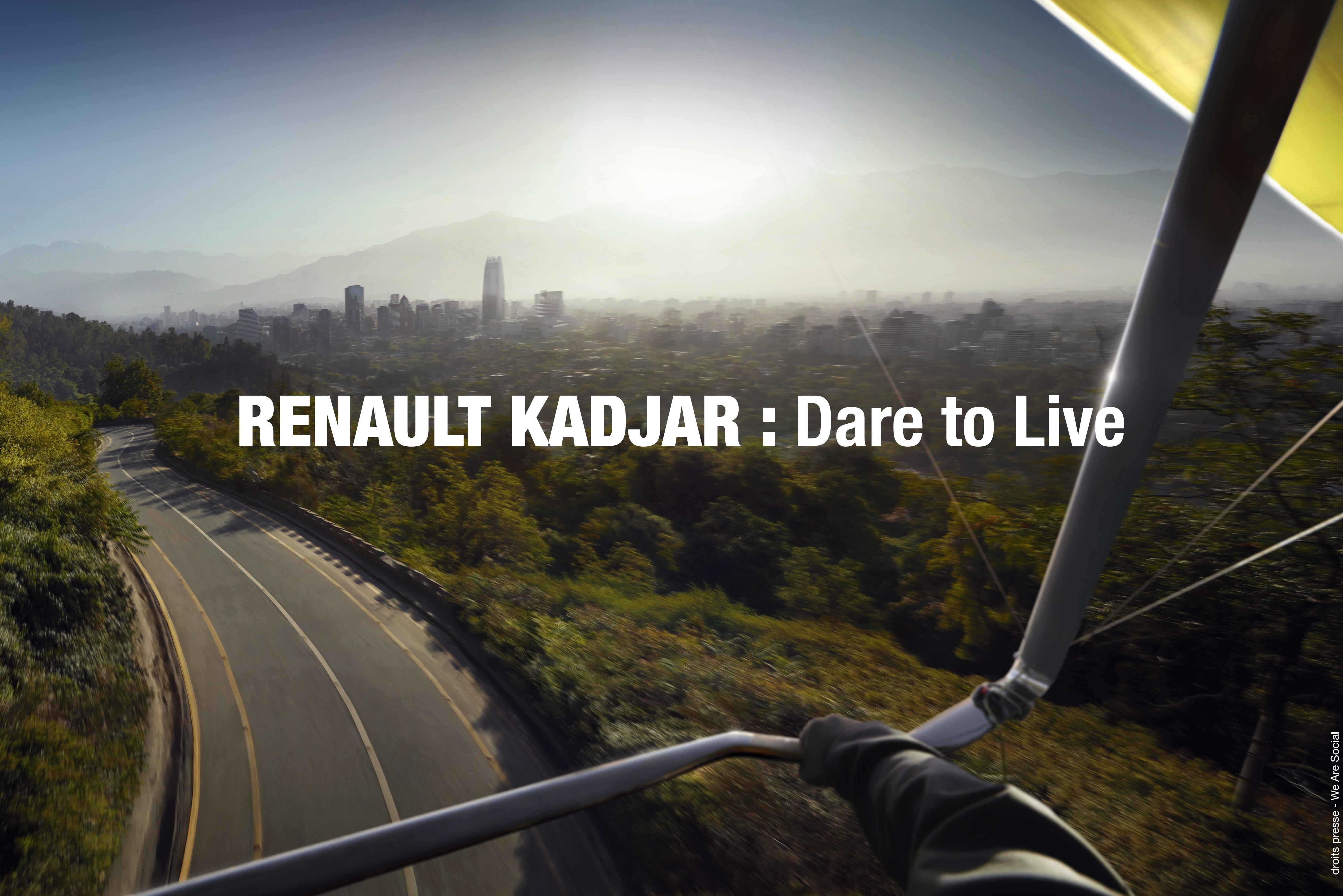 Renault KADJAR si svela sui social