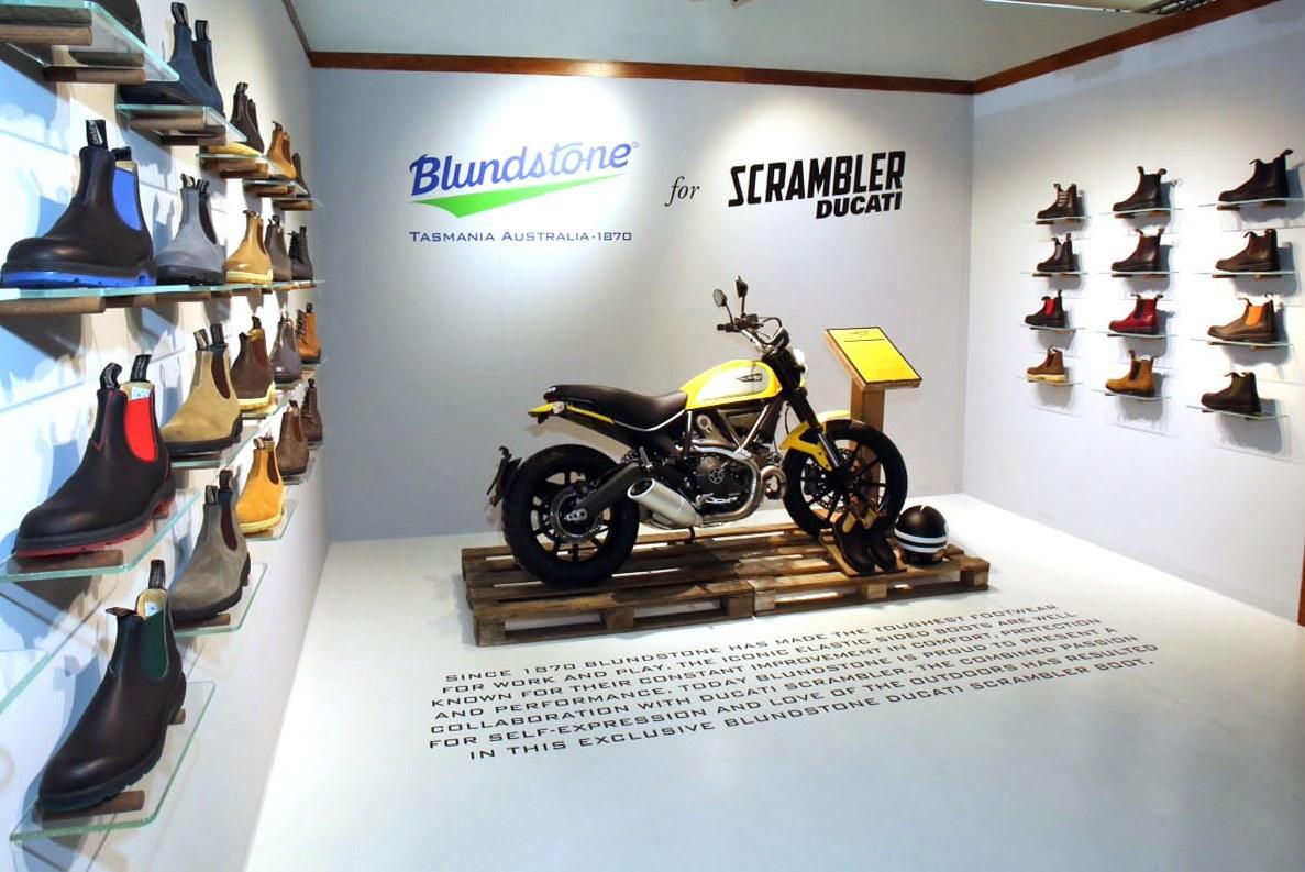 Blundstone 800 by Scrambler Ducati e WP