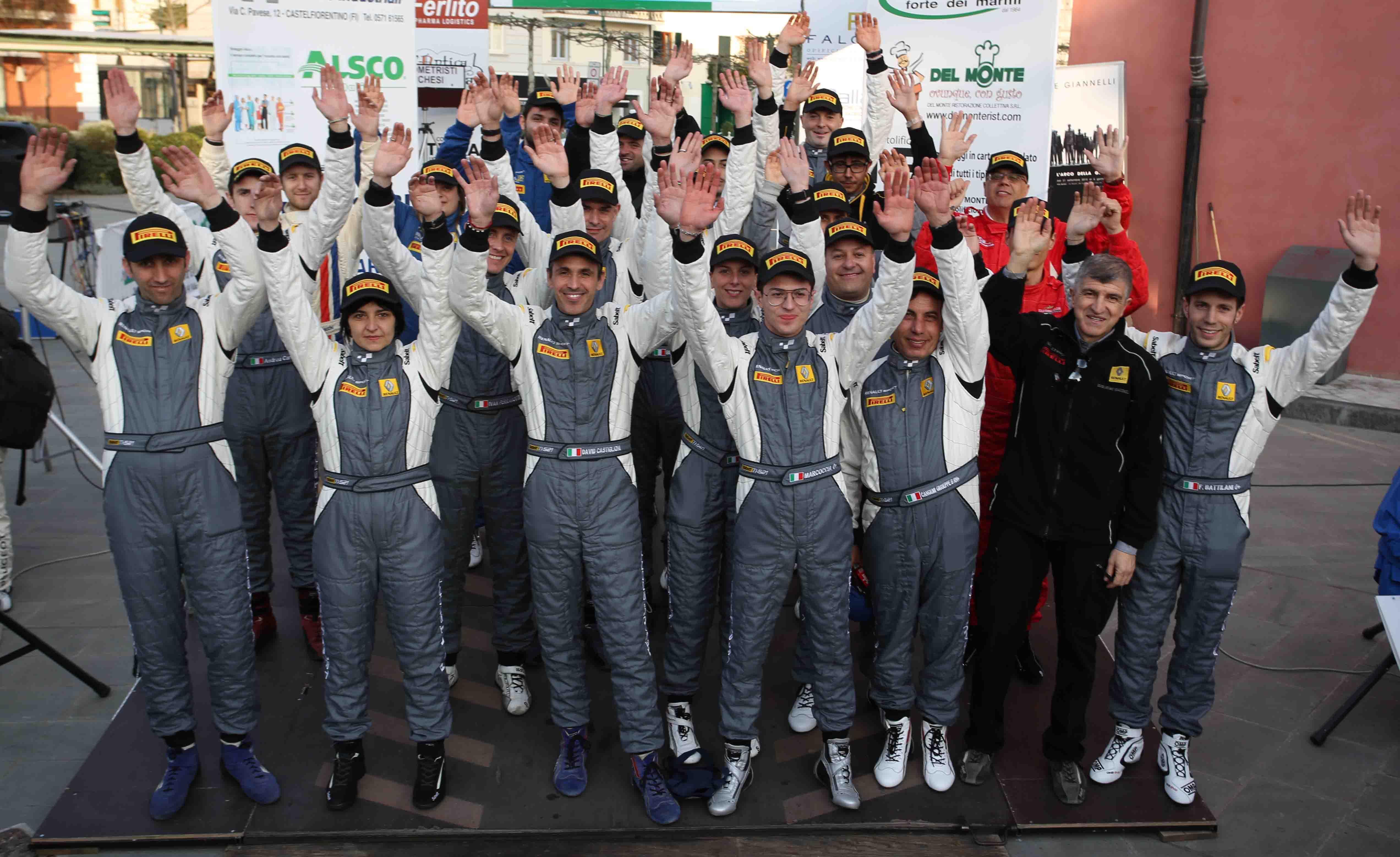 Trofei Renault Rally: sabato le premiazioni
