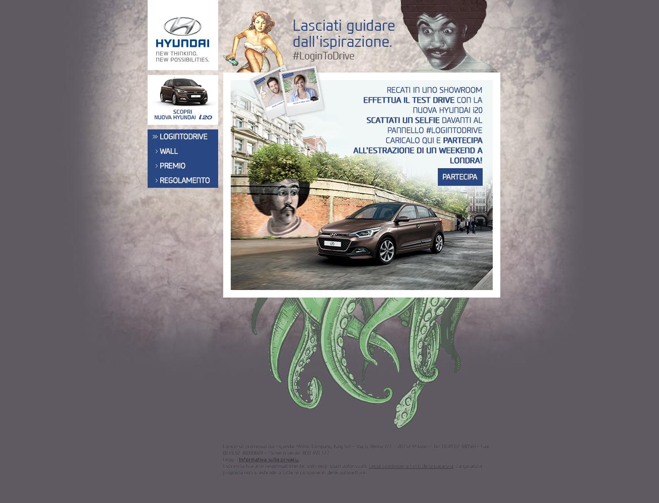 Hyundai #LoginToDrive e porte aperte Nuova i20