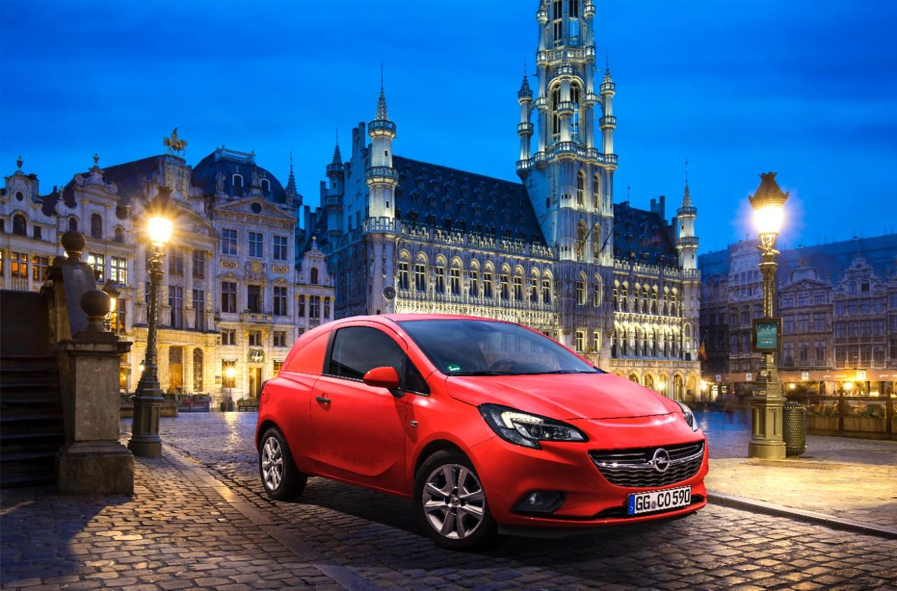 "Nuova Opel Corsa Van, ""prima"" a Bruxelles"