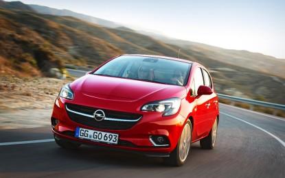 Nuova Opel Corsa, l'ecologica