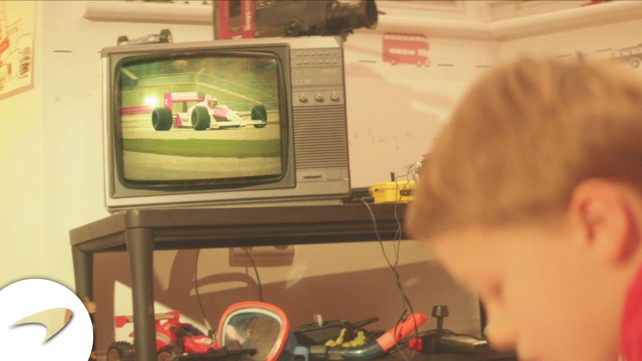 E la McLaren gioca con un video… #makehistory