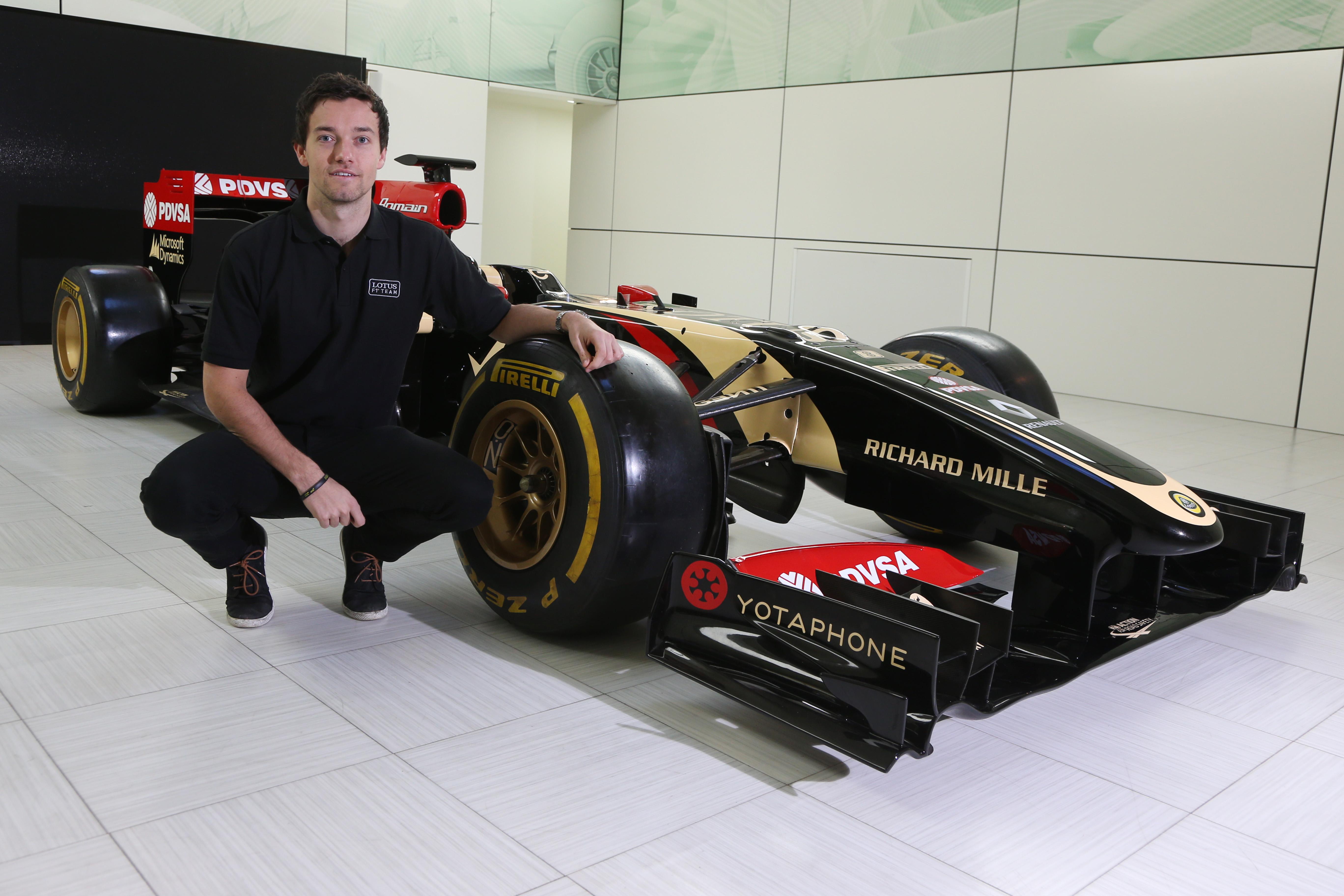 Jolyon Palmer terzo pilota Lotus F1 Team 2015