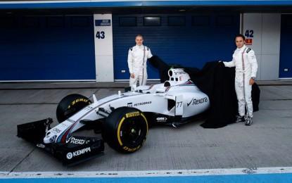 Williams FW37: la sfida continua