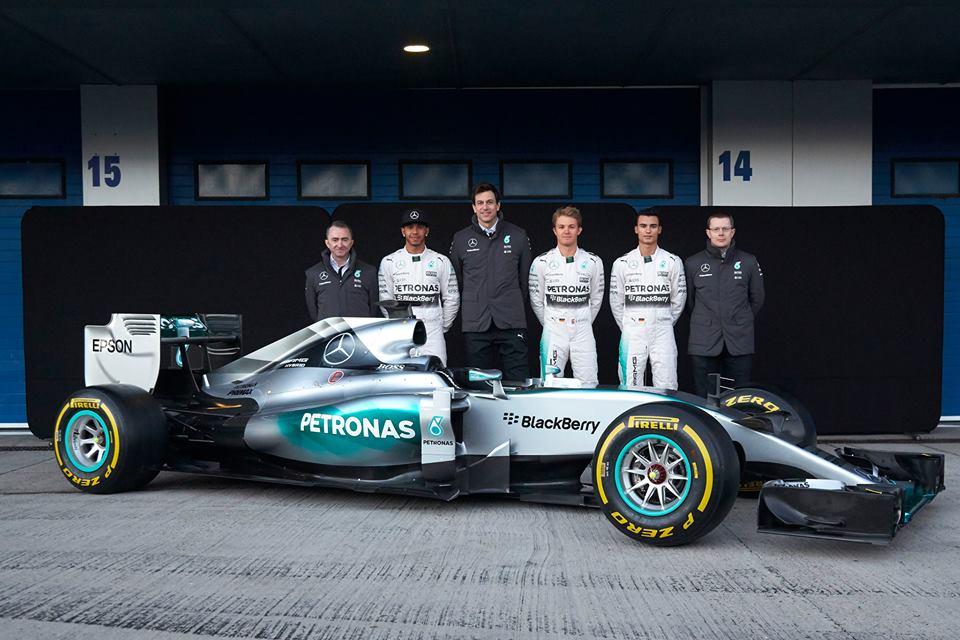 F1 W06 Hybrid: ecco la Mercedes di Lewis e Nico