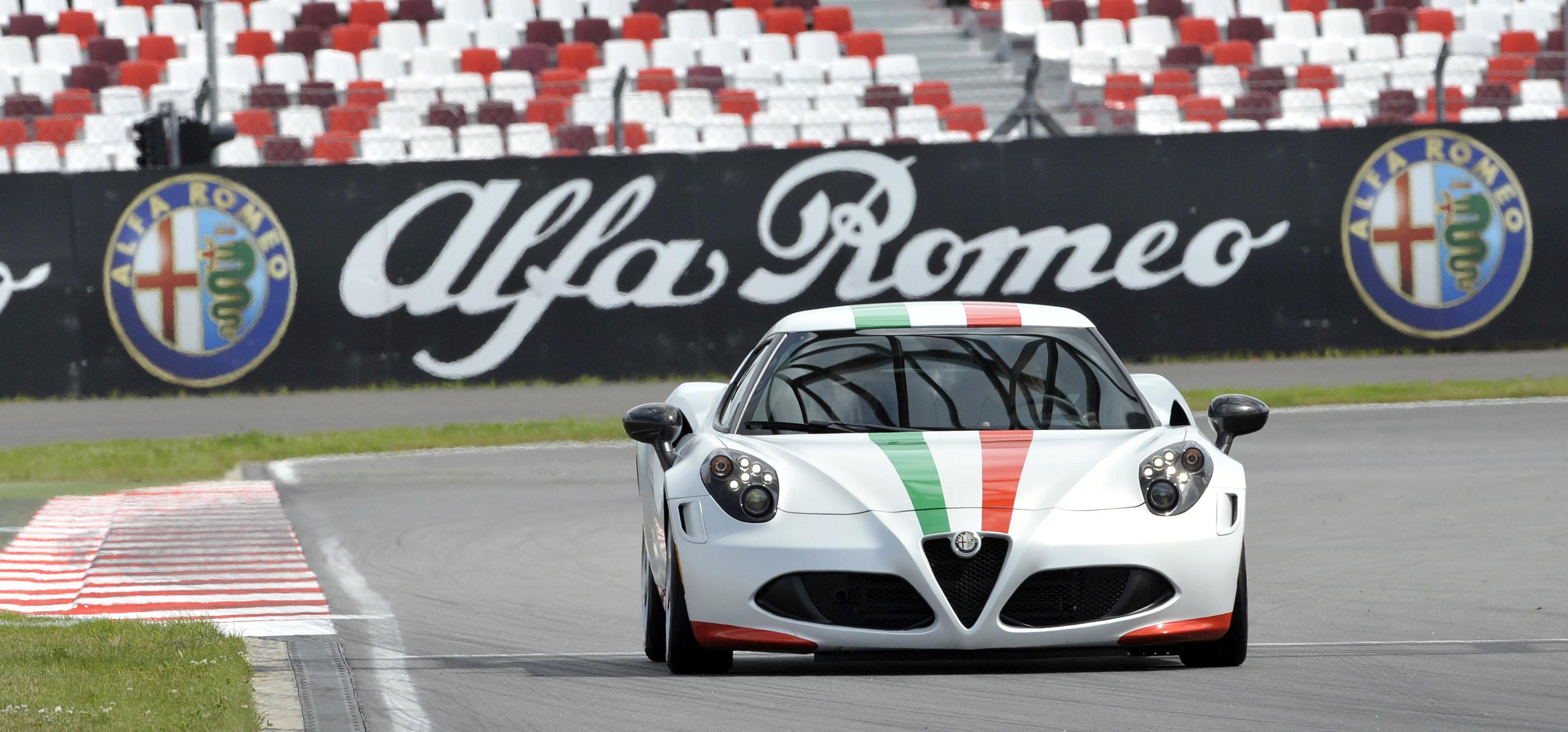 Disegna la tua Safety Car Alfa Romeo 4C