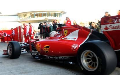 Ferrari: a Jerez primo giorno di test del 2015