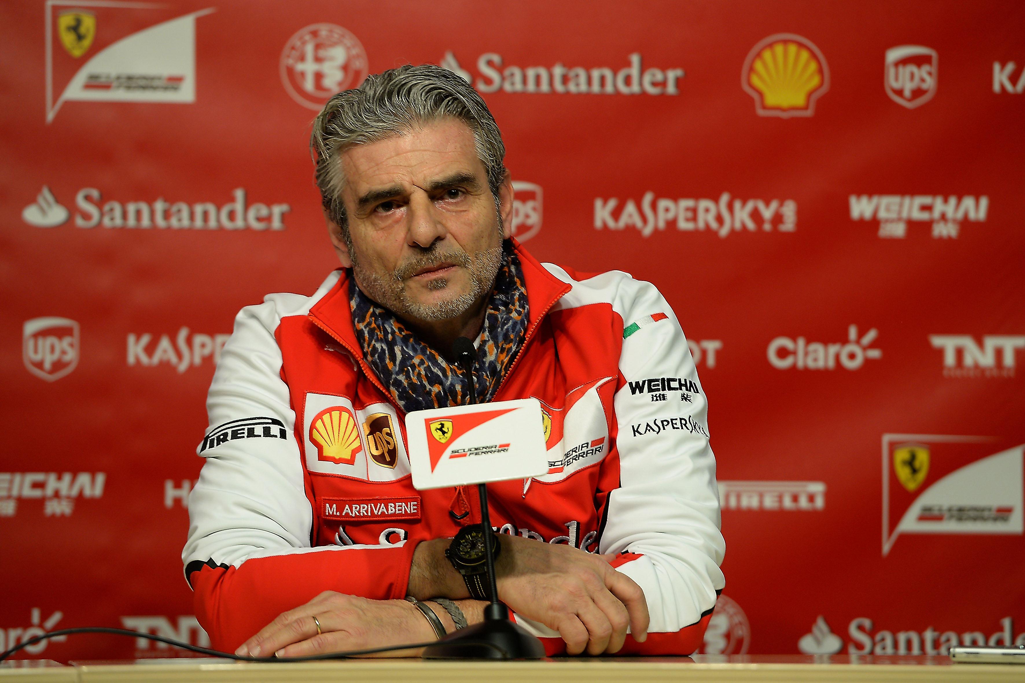 Arrivabene incontra la stampa a Barcellona