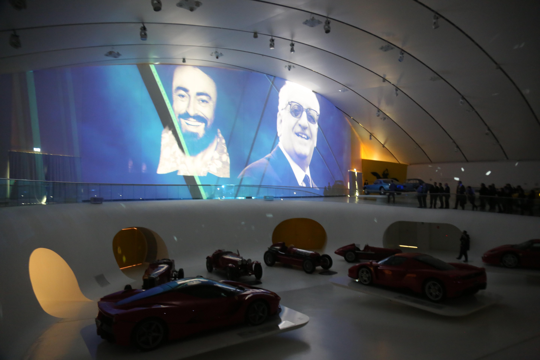 Ferrari e Pavarotti: il MEF celebra due Grandi. Con tante novità
