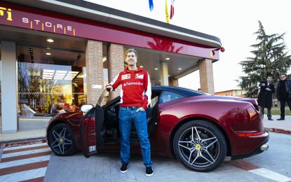 Vettel a Barcellona via Maranello