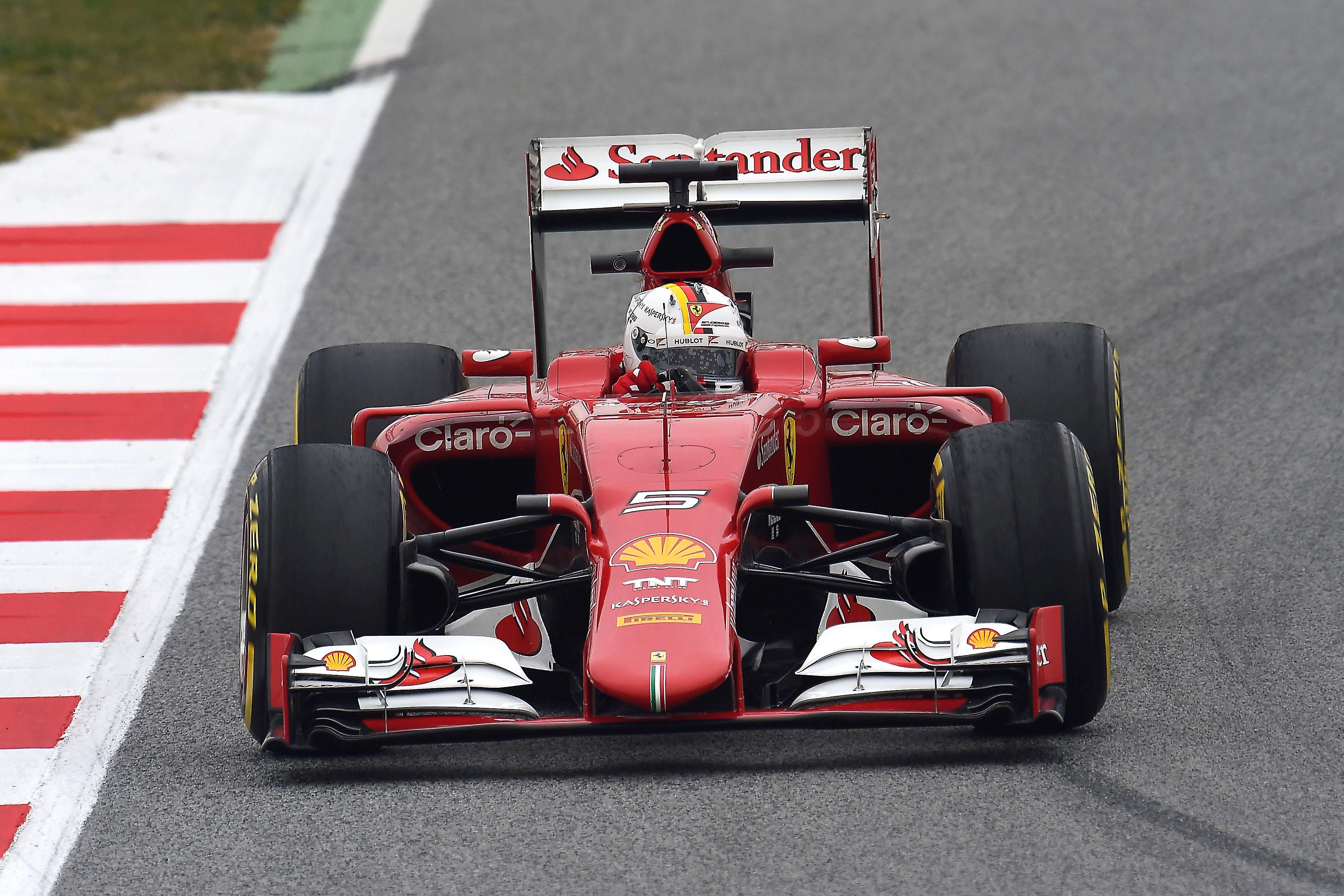 Ferrari: update da Barcellona