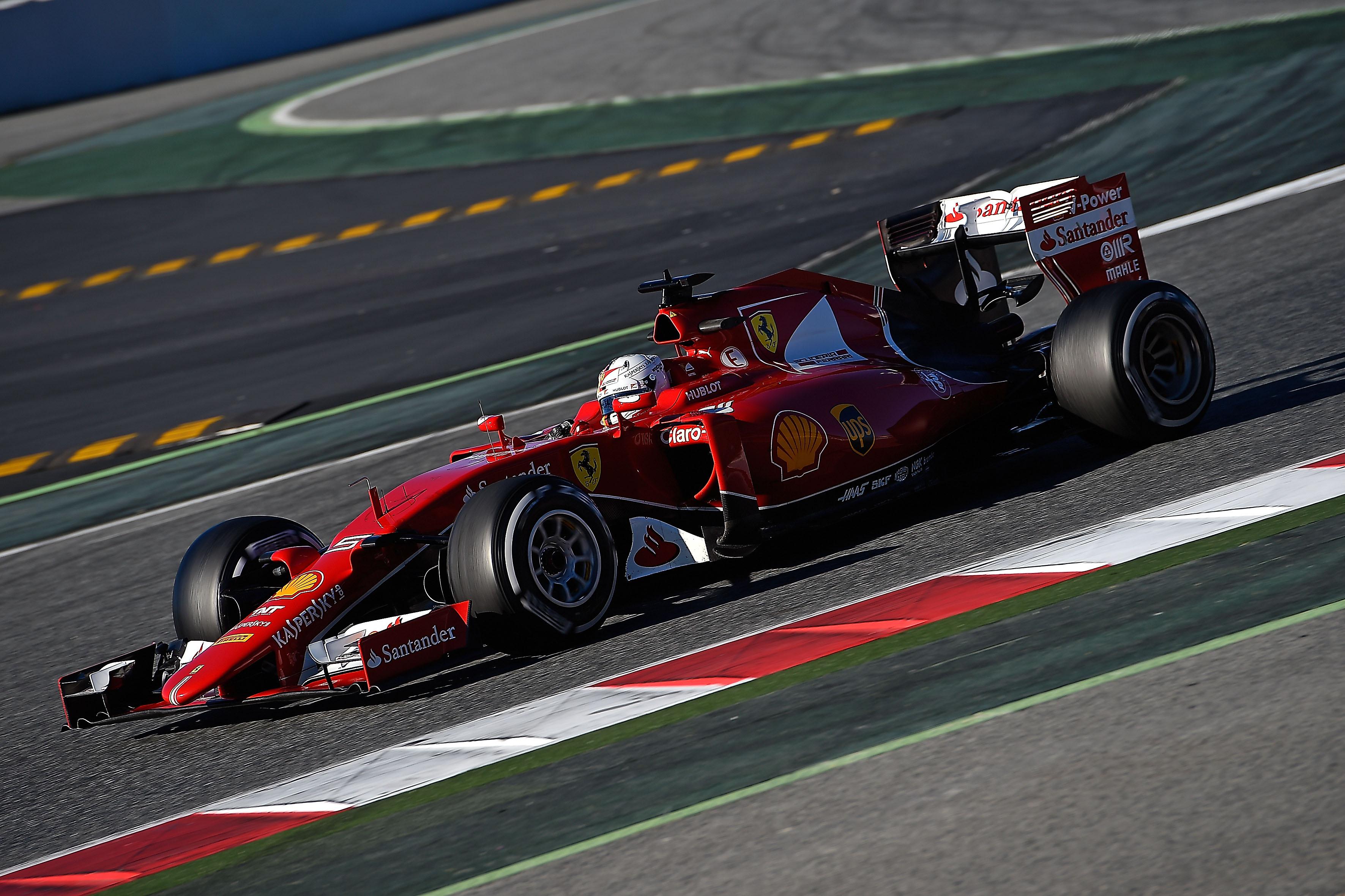Ferrari: il punto sui test di Barcellona
