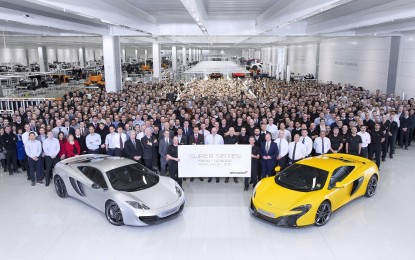 McLaren: nuovi traguardi per la Super Series