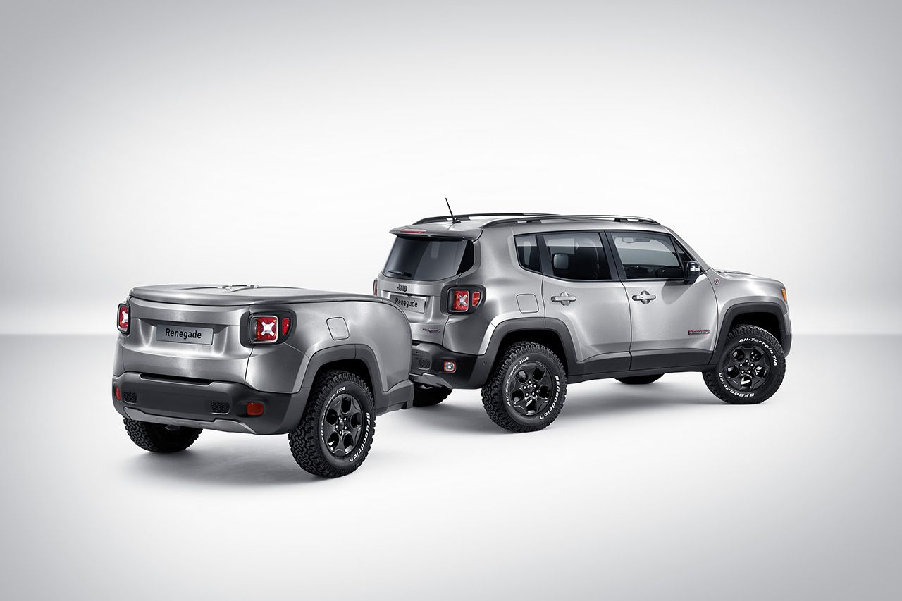 Showcar Jeep Renegade Hard Steel