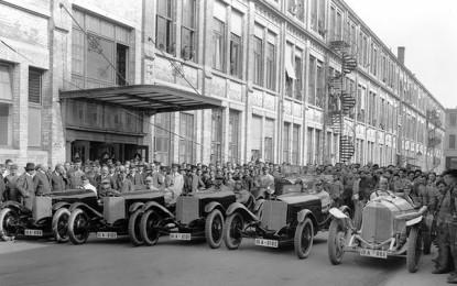 Team Mercedes: un tuffo nel passato…