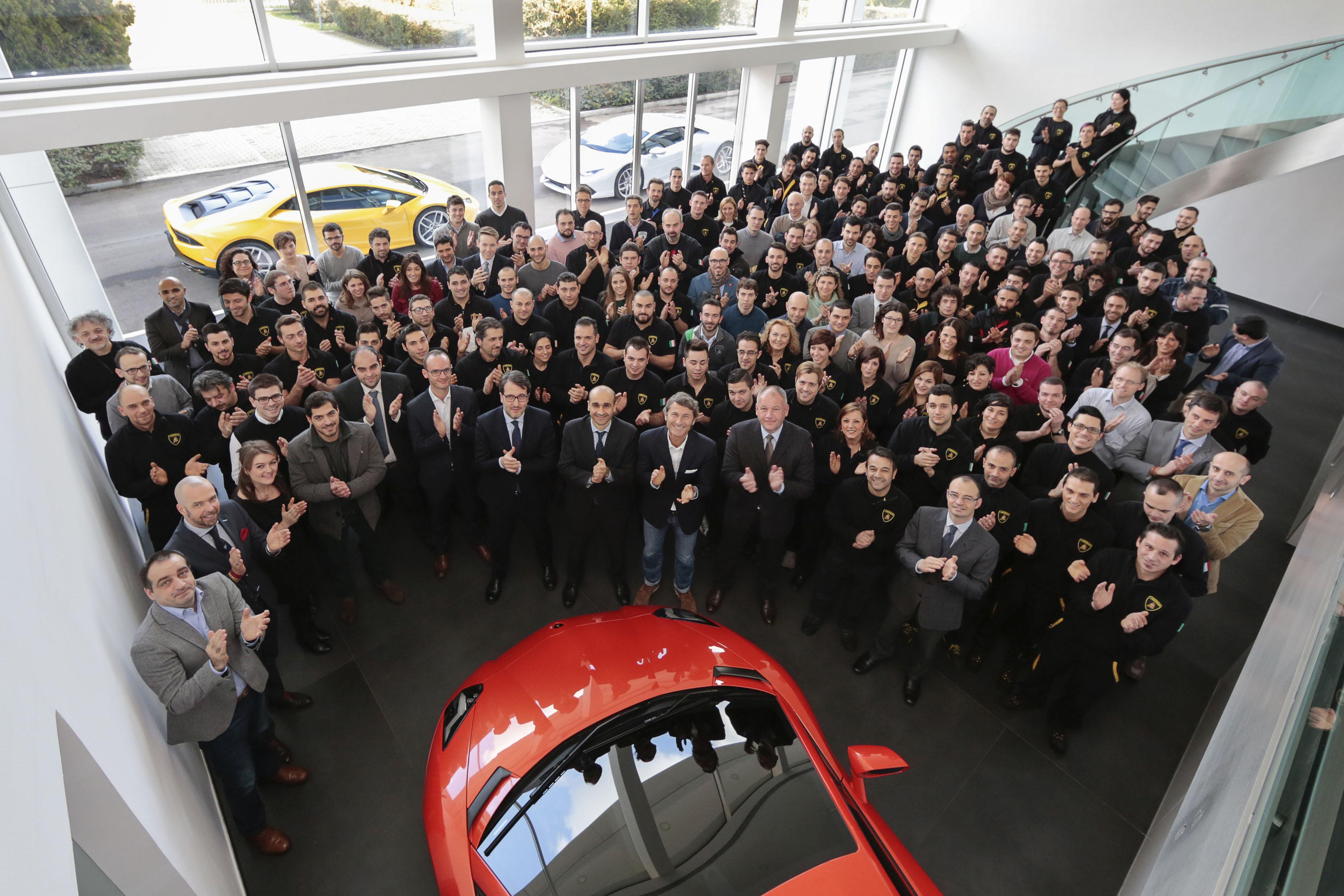 """Lamborghini è """"Top Employer Italy 2015"""""""