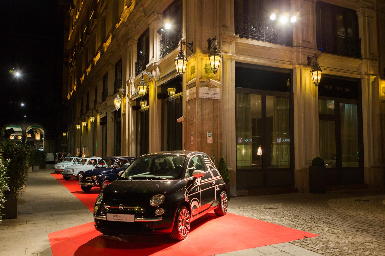 Fiat 500 Ron Arad Edition per inaugurare il MIO
