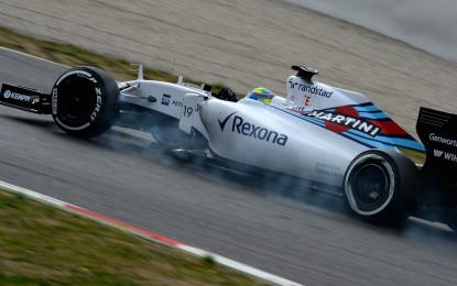 Test F1: Massa e Williams irraggiungibili