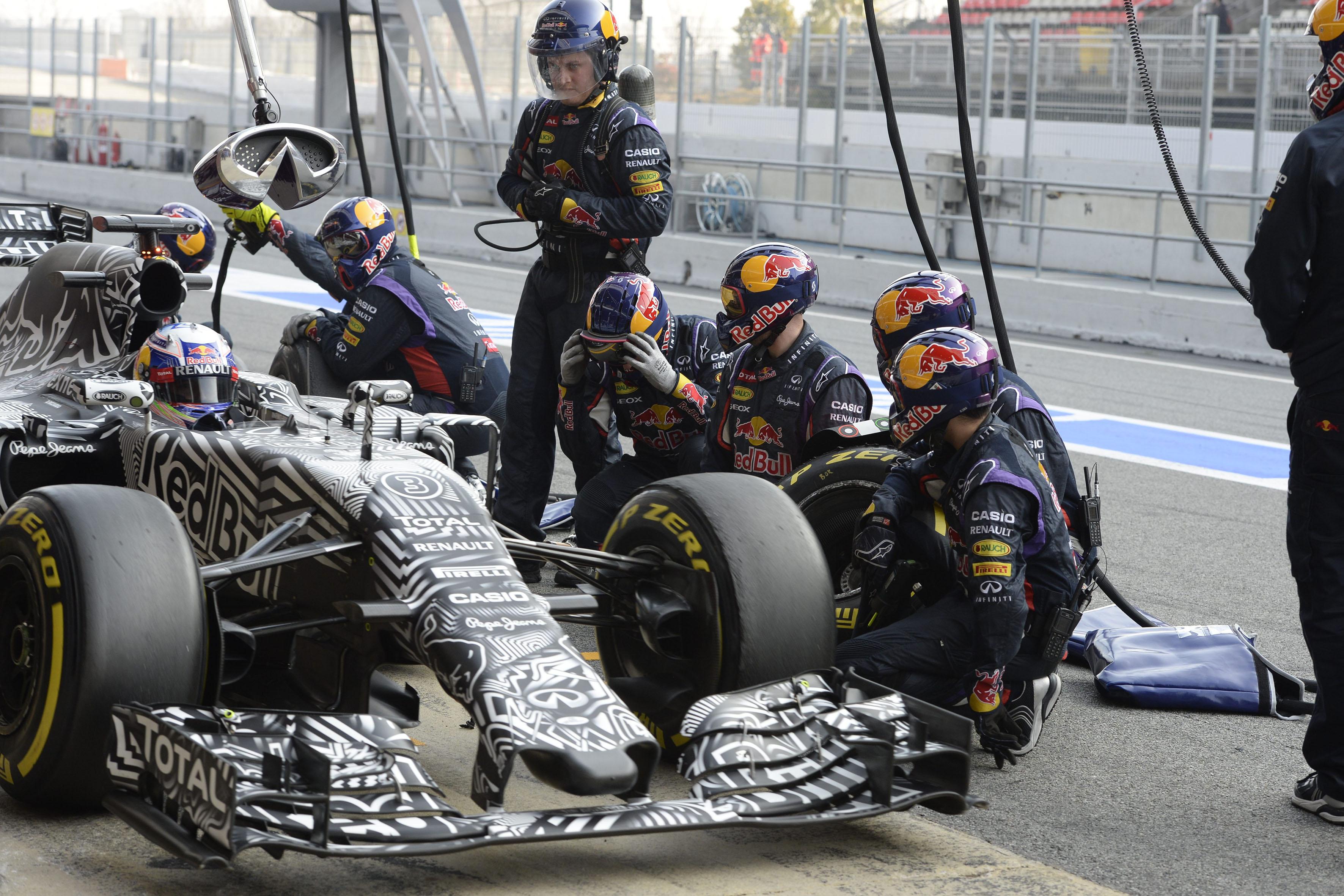 Test F1: il più veloce è Ricciardo. Kimi a un niente