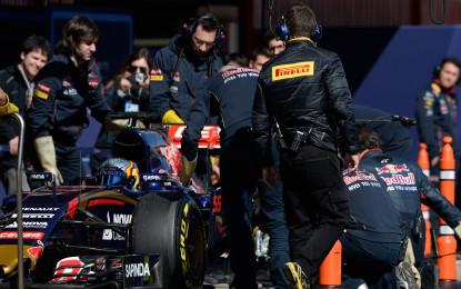 Test F1: Pirelli fa il punto sul sabato