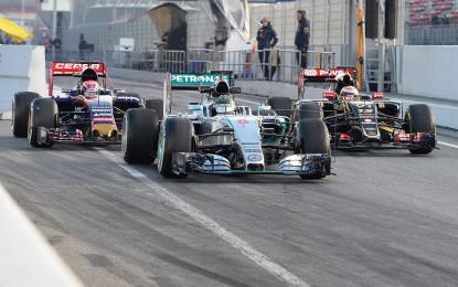 Test F1: il punto Pirelli sul venerdì